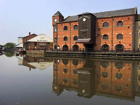 Wigan Pier on Leeds Liverpool Canal